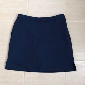 Navy golf skirt/skort